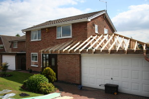 new garage roof edwinstowe