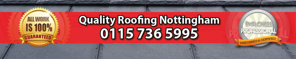 header image for quality roofing nottingham