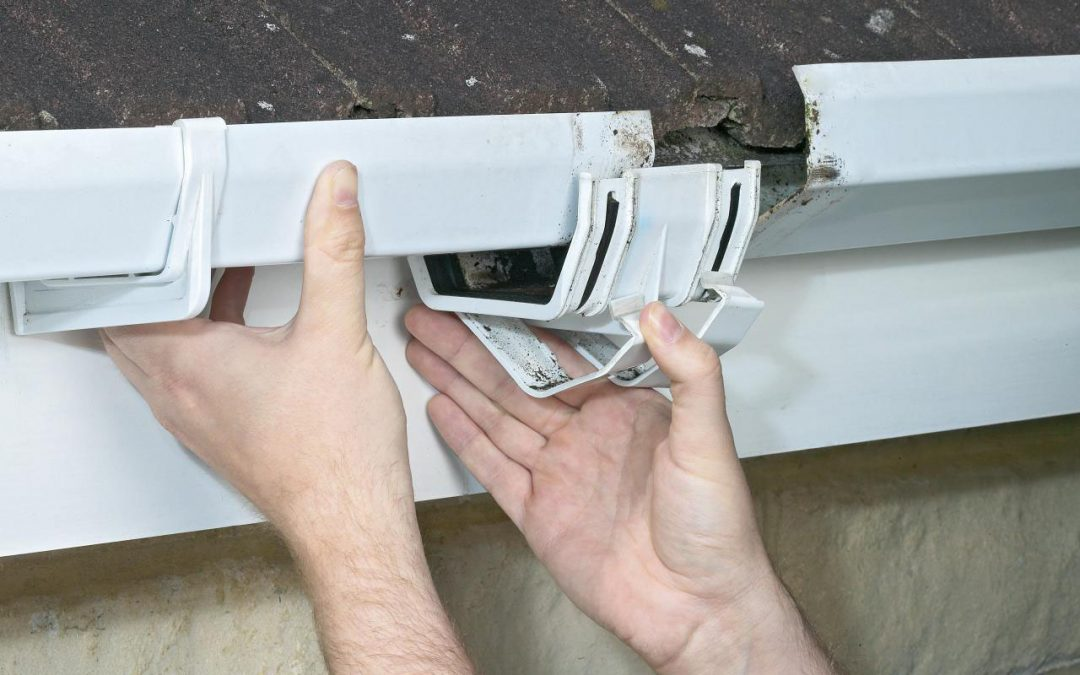 Fix Your Leaking Rain Gutters