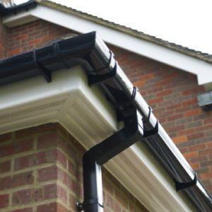 example pvc guttering and downpipe