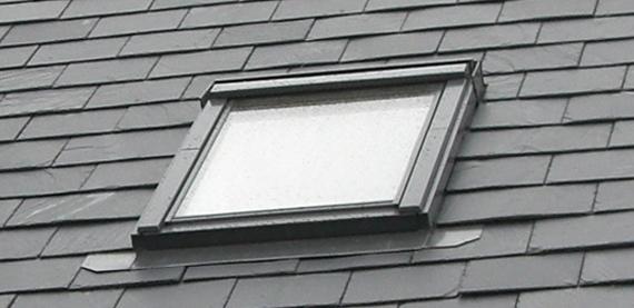 velux window in slate roof mapperley house