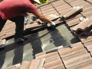repairing-concrete-roof-tiles-in-Cossall Marsh